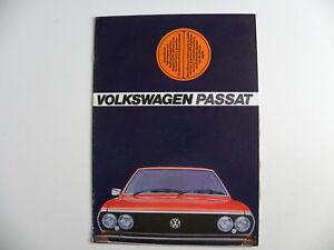 Catalogue / brochure Volkswagen VW PASSAT de 1975 / Afrique du sud