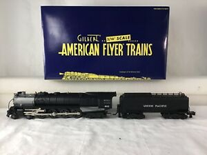 AMERICAN FLYER S SCALE 48047 UNION PACIFIC 4-8-4 NORTHERN W/ RAILSOUNDS MINT NEW