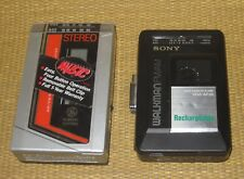 GE Stereo Cassette | 3-5434A Tape Player/Radio Sony Walkman WM-AF29 Vintage