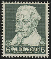 THIRD REICH Mi. #573 mint never hinged stamp! CV $8.50