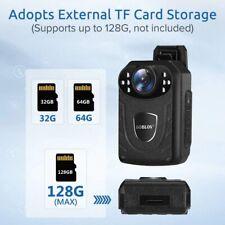Boblov Body Cam Tragbare Camcorder Multifunktionskamera für Security geeignet