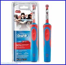Nuevo Oral-B Stages Power Niños Electrico Recargable Cepillo de dientes Star Wars Rojo Azul