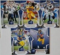 2019 Panini Rookies and Stars Los Angeles Rams Team Set 5 Card Lot with RC