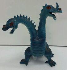 1983 Imperial Two Headed Dragons Dinosaurs Plastic Hong Kong King Kong RARE