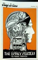 Things to Come December 1972 Sci Fi Book Club Circular Isaac Asimov Dune