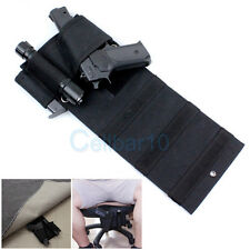 Can Track Tactical Adjustable Under Mattress Bed Seat Car Pistol Handgun Holster