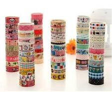 10 Rolls Kawaii Lovely Deco Cartoon Tape Scrapbooking Adhesive Paper Sticker