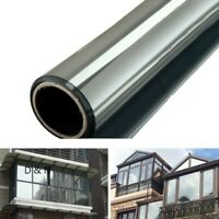 Mirror Privacy Solar Reflective Film One Way Window Sticker Glass Insulation