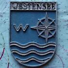 Westensee German Navy Ship Metal Tampion Plaque Crest