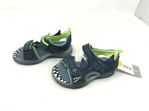 Boys Toddlers Carters (CS180332) Funny Navy sandals (457C)