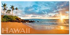 Panoramic Hawaiian Refrigerator Magnet - Wailea Dreams by Michael & Monica Sweet