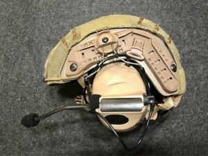 Z Tactical Comtac 2 Military Style Headset with ARC Helmet Rail Adaptor - DE TAN