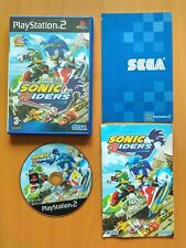 SONIC RIDERS - Jeu PS2 Playstation - Avec Notice - PAL FR VF - TBE