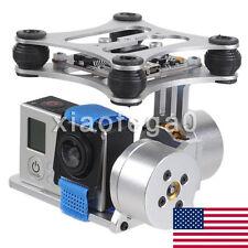 DJI Phantom Brushless Gimbal Camera Mount w/ Motor&Controller Gopro3 FPV In US