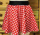 Minnie Mouse women's running skirt costume disney marathon pink red polka dots