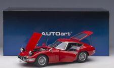 Toyota 2000 GT (red with spoke wheels) 1967  1:18 AUT0art