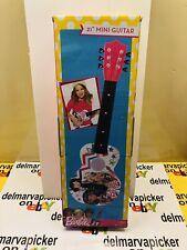 """Barbie 21"""" Mini Guitar New in Box"""