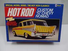 REVELL HOT ROD CUSTOM 57 CHEVY NOMAD MODEL CAR KIT 1/25 UNBUILT FREE SHIPPING!!