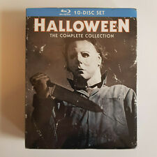 HALLOWEEN The Complete Collection Blu-ray 10-Disc Box Set RARE OOP *Brand New*