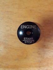 "Engine Start Stop Button Bicycle Headset Top Cap 1 1/8"" Stem Cap Bolt Bike Black"
