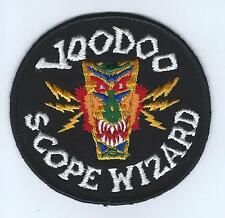 60s-70s F-101 VOODOO SCOPE WIZARD patch