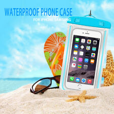 Fluorescent Dry Pouch Case Cover Bag Waterproof For Mobile Phone Swim Bags