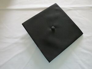 Jostens Graduation Mortarboard Cap Black