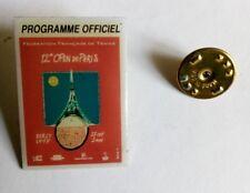 pin's - TENNIS 12ème open de Paris Bercy 1997 programme officiel - signé FFT