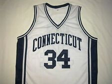 RAY ALLEN Connecticut Huskies White College Basketball Jersey Gift Any Size