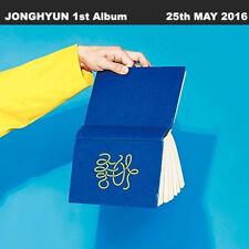 SHINEE JONGHYUN LIKE 1st Album CD+80p Photo Book+Card