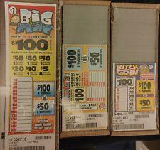 New 3 Pull Tab Seal Card jars, 1 window, $320 Plus Profit FREE SHIPPING!