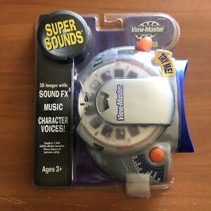 View-Master SUPER SOUNDS Fisher Price 3D VIEWER Sound Effects