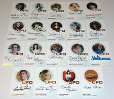 UFO Series 3 Set 'A' 19 x Autograph Gold Foil Trading Cards Unstoppable 2020