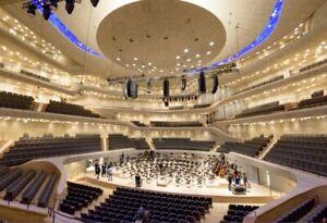 2 Tickets Karten Elbphilharmonie / Kammerphilharmonie Bremen / Paavo Järvi
