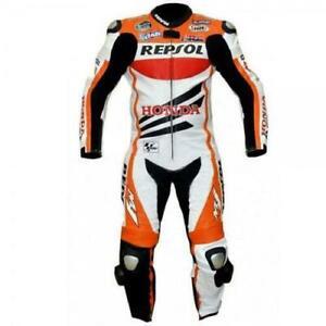 Honda Repsol Motorcycle Leather Racing Suits Motorbike Moto Gp