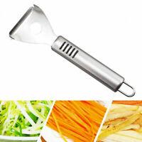 Praktische Edelstahl Kartoffel Schäler Obst Gemüse-Schneidemaschine  Neu