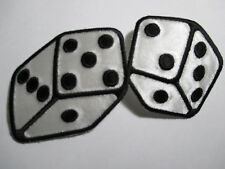 Dice Patch 4 1/2 x 2 1/4 inches