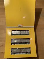 H0 Brawa 48950 Set 3 x Schiebewandwagen, Ep. IV, OVP, neu