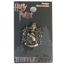 Harry Potter New * Hufflepuff Crest * Pewter Lapel Pin Accessory Charm Pin Back