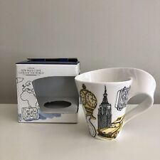 Villeroy Boch New Wave Caffe Mug New York Cities of The World Collection