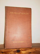 The Rural Problem by Henry Harben HB 1913 re rural poverty in England