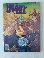Heavy Metal  magazine October 1978 vol 2 # 6