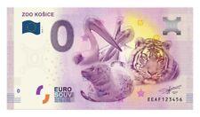 Billet Touristique 0 Euro --- Zoo Kosice  2018-1