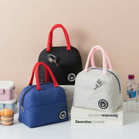 Lunch Bags Insulated Thermal Food Storage Bags Portable Travel Working Bento Box