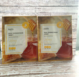 2pcs Korean Highly Concentrated Real Essence Mask Honey Sheet Exp/23 Ship Fast