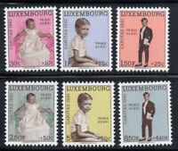 Luxemburg 1961 Mi. 649-654 Postfrisch 100% Caritas, Prinz Henri