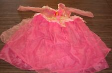 Disney Sleeping Beauty AURORA PINK PRINCESS CHILDREN'S COSTUME 1 Size Fits Most