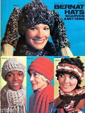 Knitting Crochet PATTERNS Hats Scarves Mittens Nordic Helmets Balaclavas