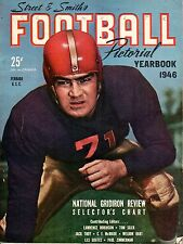 1946 Street & Smith's Football Pictorial YB, magazine, John Ferraro, USC ~ Good