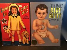 Vintage 1991 Carolyn Lee Child Actress, Baby Betty Paper Dolls Queen Holden
